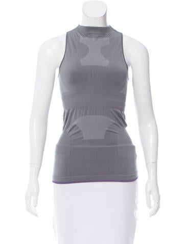 Stella McCartney for Adidas Sleeveless Mock Neck Top w/ Tags None