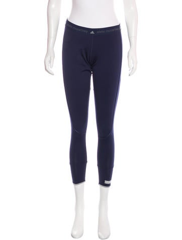 Stella McCartney for Adidas Cropped Athletic Leggings None