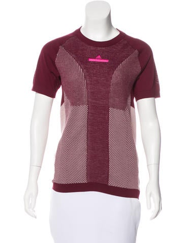 Stella McCartney for Adidas Short Sleeve Knit Top w/ Tags None