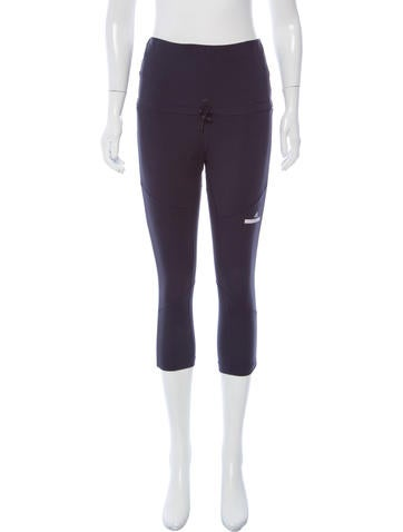 Stella McCartney for Adidas High-Rise Cropped Leggings None