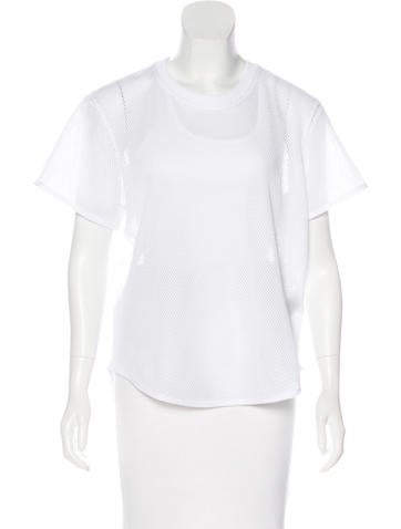 Stella McCartney for Adidas Mesh Short Sleeve Top w/ Tags None
