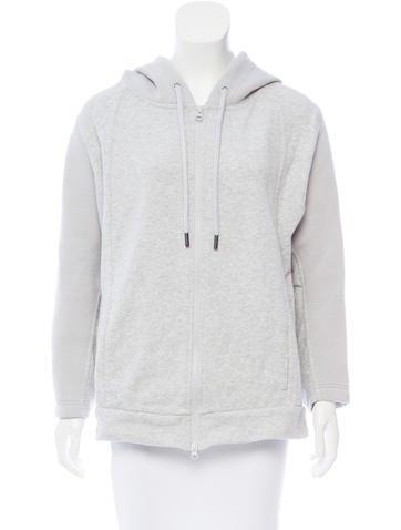 Stella McCartney for Adidas Hooded Neoprene Jacket None
