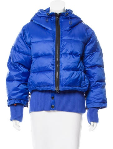Stella McCartney for Adidas Hooded Puffer Coat None