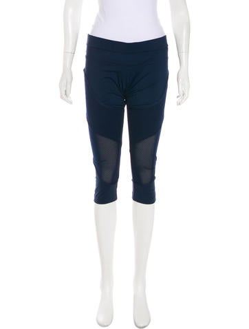 Stella McCartney for Adidas Cropped Leggings None