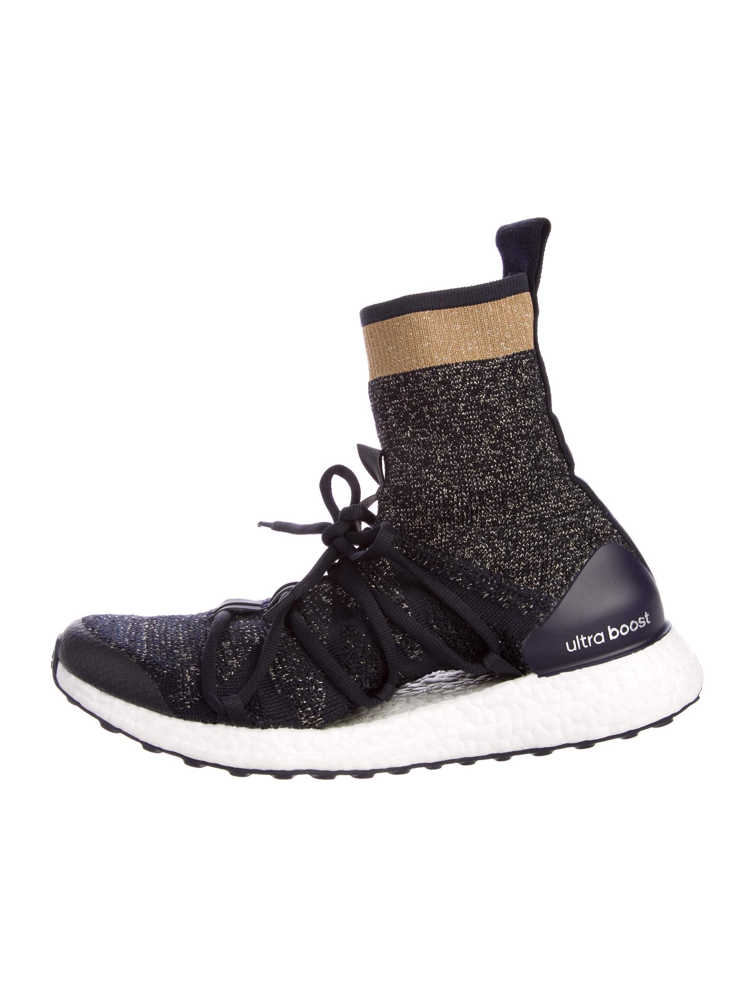 Bottega Veneta Black UltraBOOST x Mid Sneakers