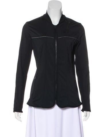 Stella McCartney for Adidas Long Sleeve Zip-Up Jacket None