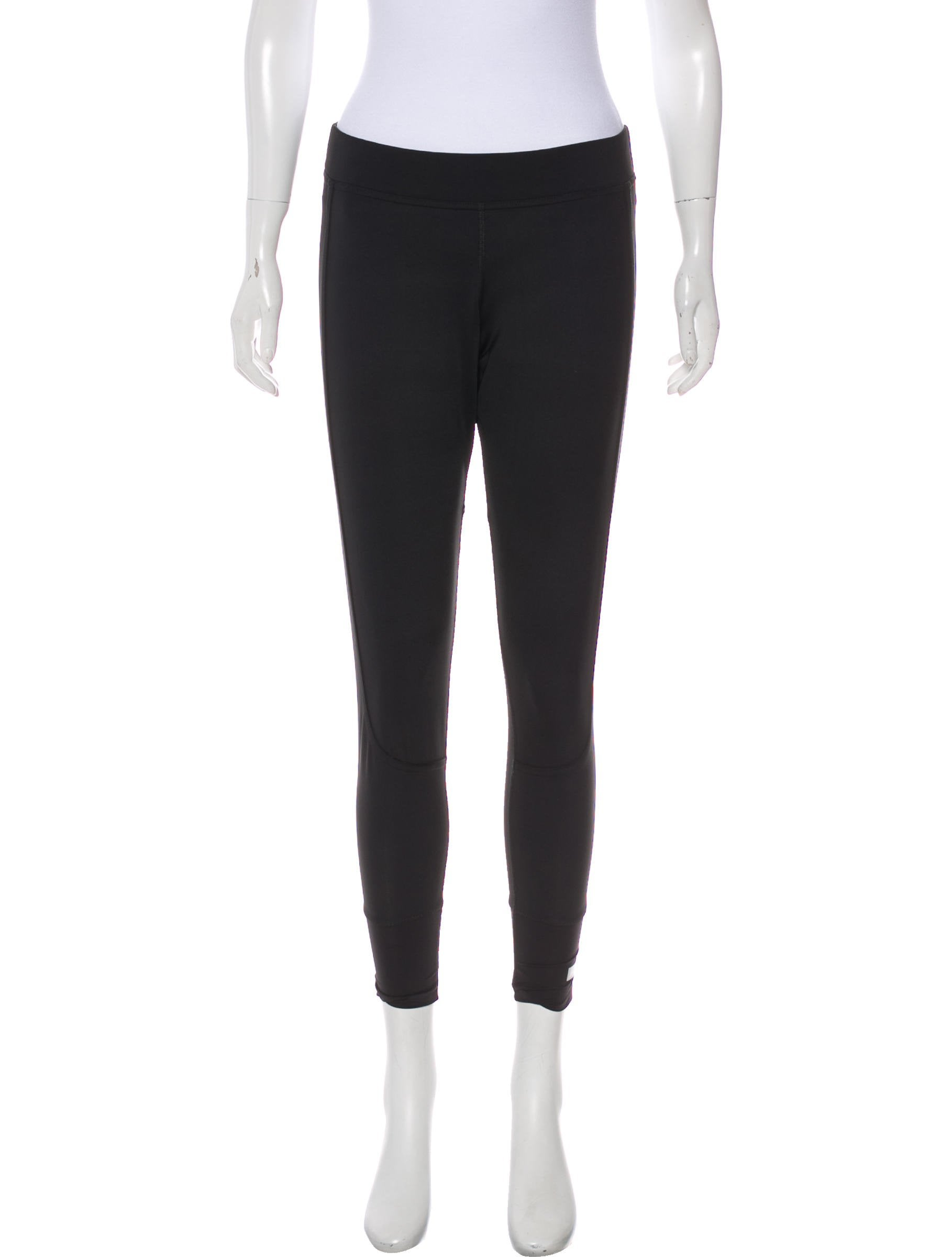 2c8f3ccffc536 Stella McCartney for Adidas Mid-Rise Athletic Leggings - Clothing ...
