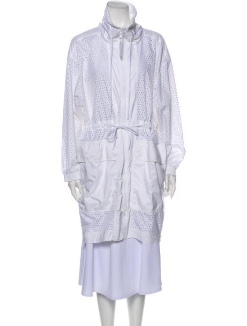 Stella McCartney for adidas Trench Coat White