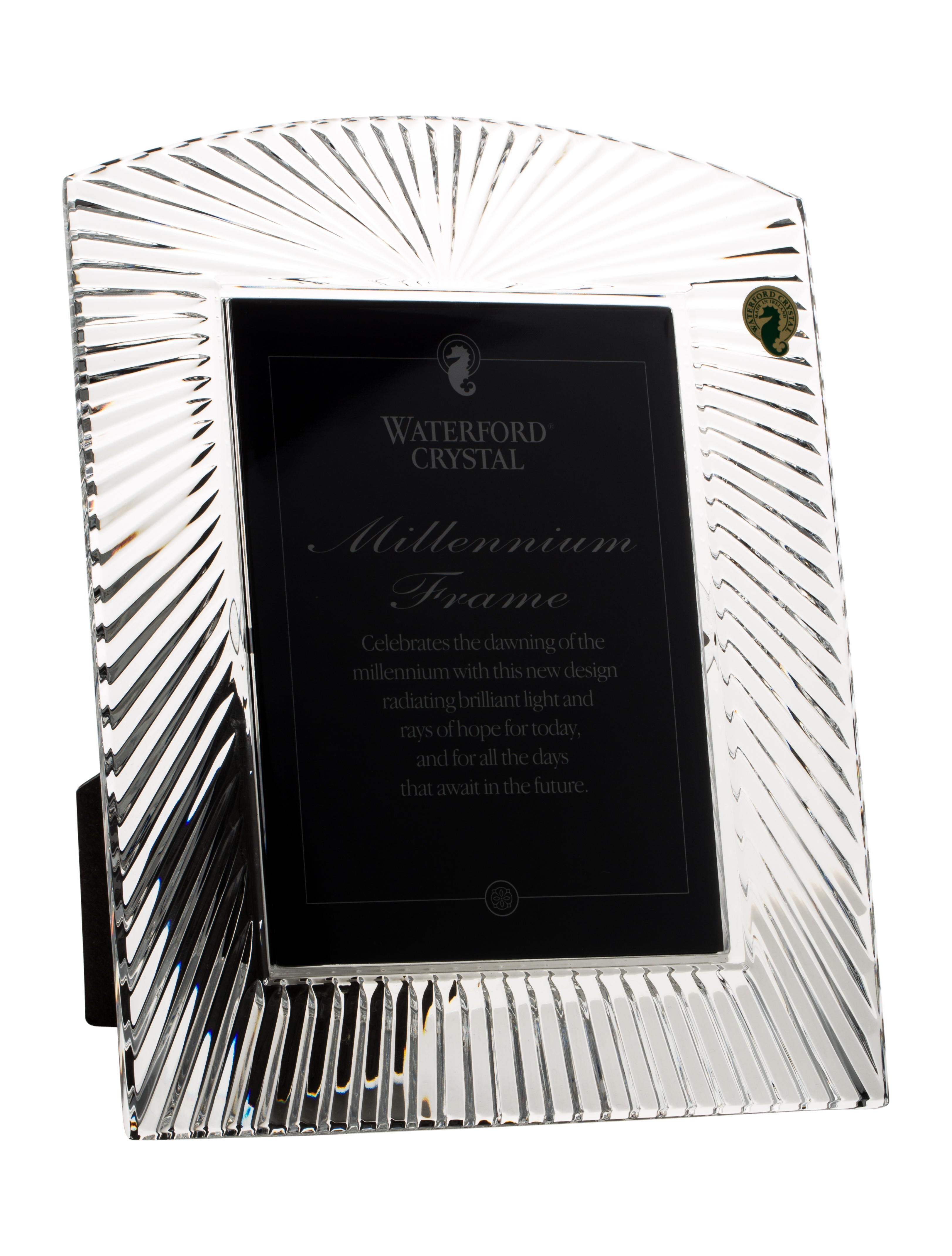 Waterford Crystal Millennium Frame - Decor And Accessories ...