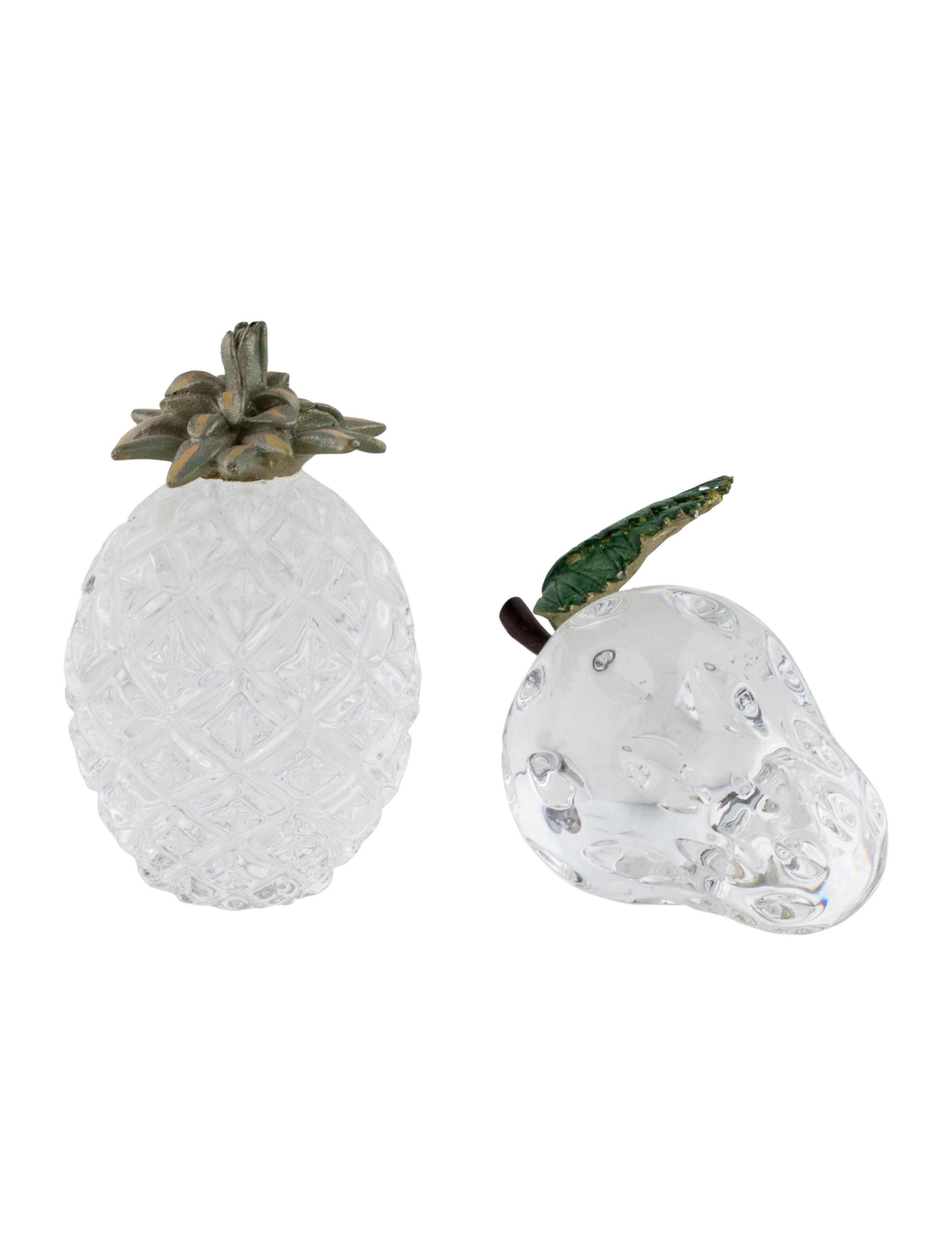 Miniature crystal ornaments - Miniature Crystal Fruit