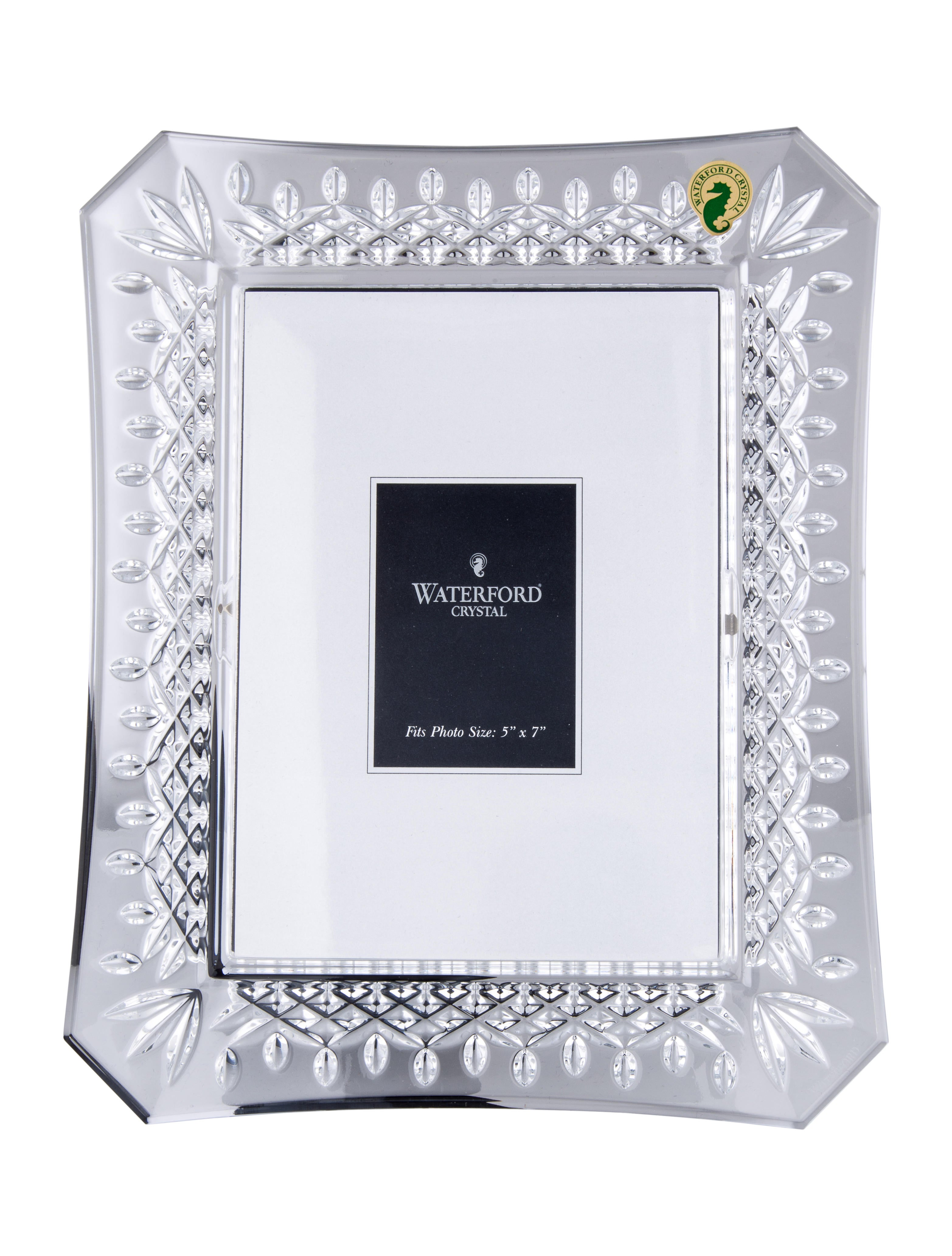 Waterford Crystal Crystal Lismore Frame Decor And Accessories