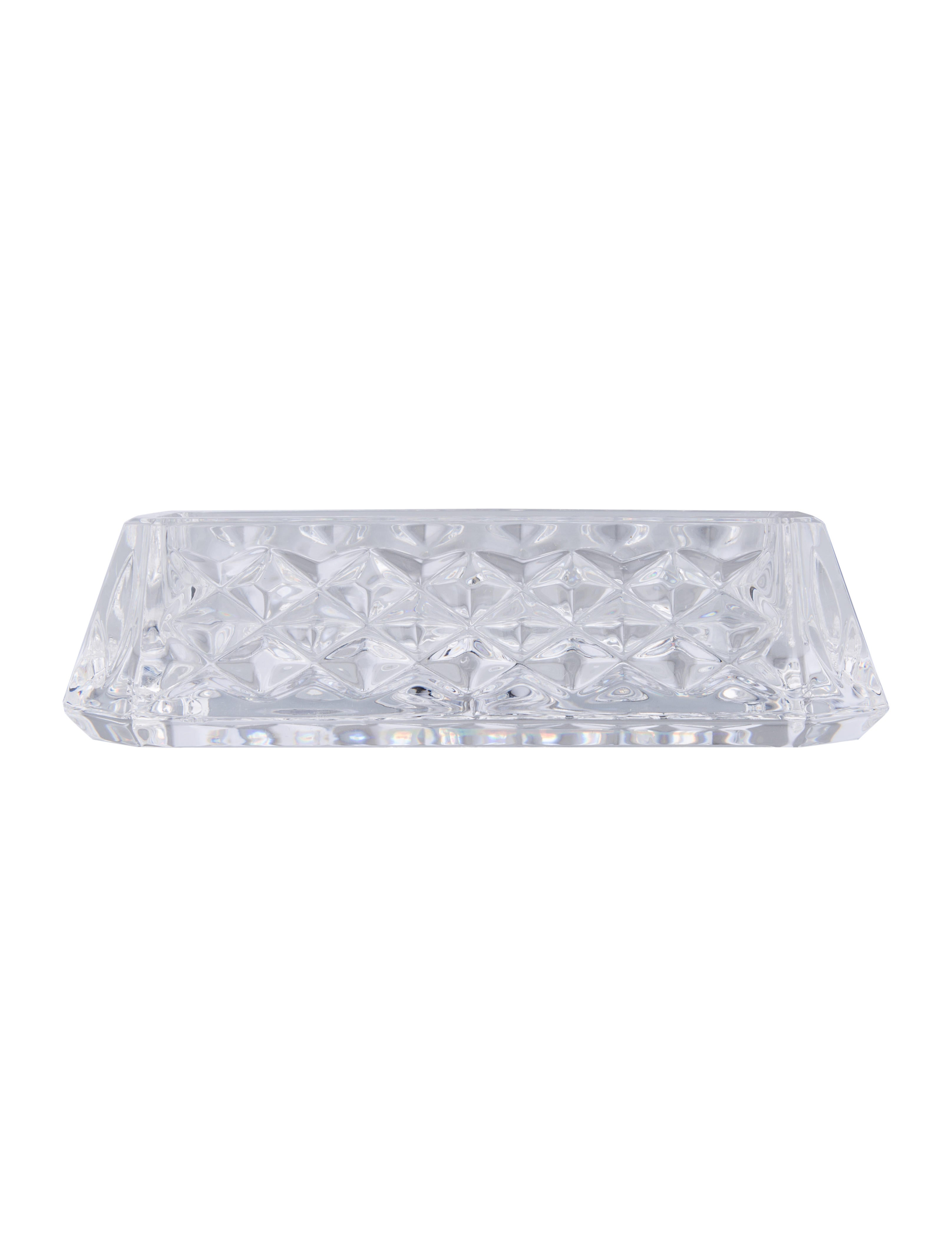 Waterford Crystal Westover Business Card Holder - Decor And ...
