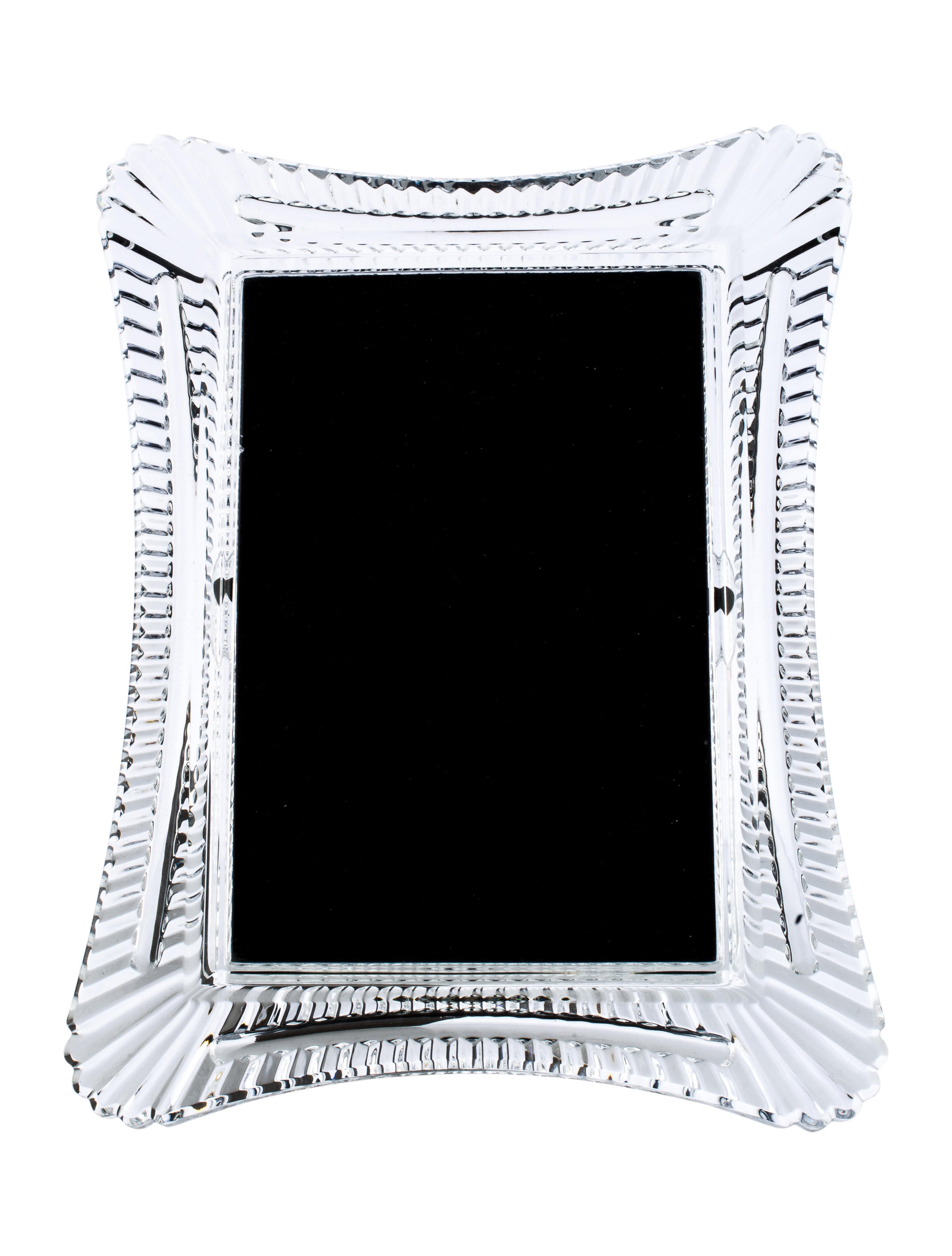 Waterford Crystal Wellesley Picture Frame - Decor And Accessories ...