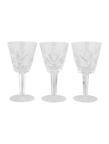 Waterford Crystal Ashling Claret Wine Glasses
