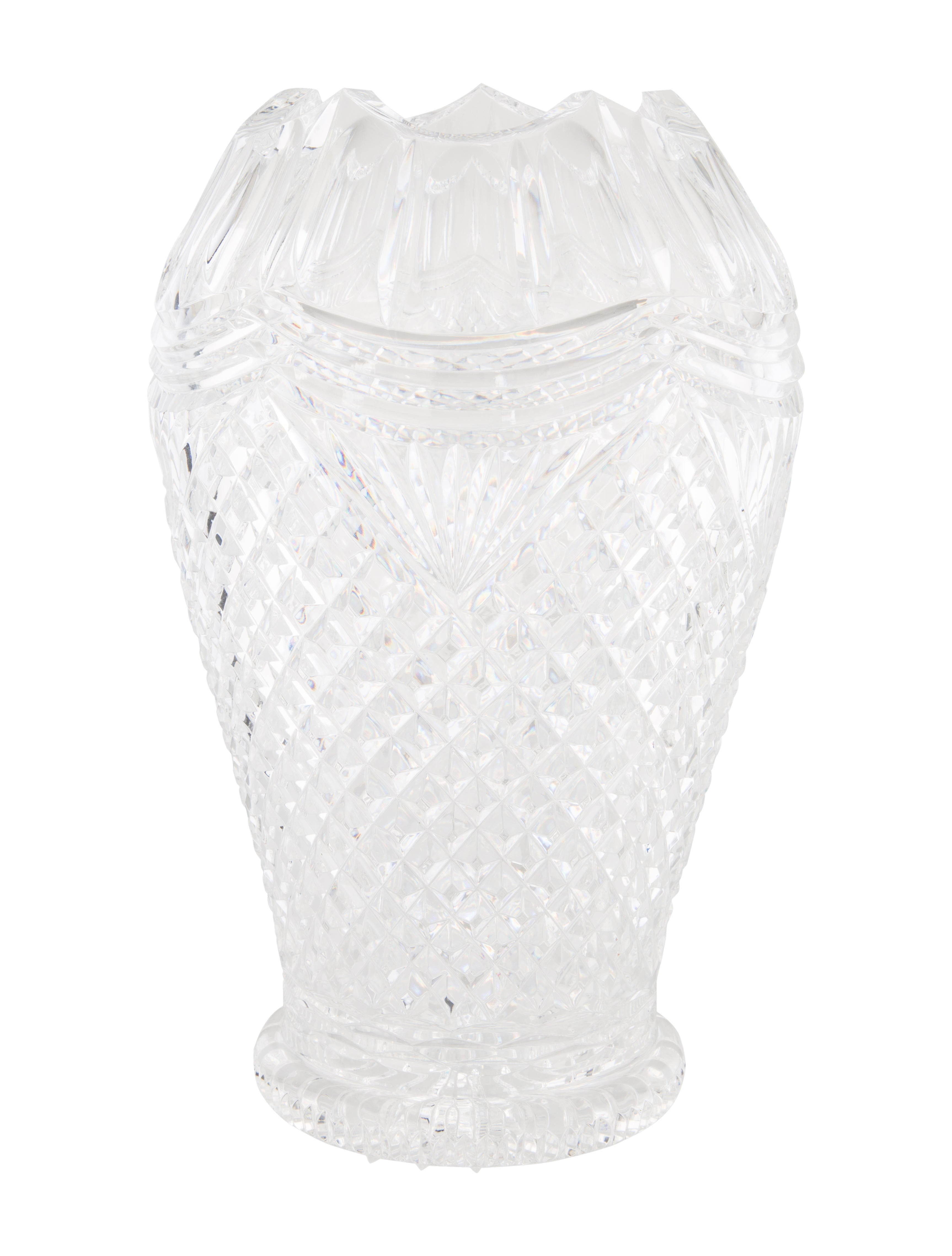 Waterford crystal decorative vase decor and accessories Crystal home decor