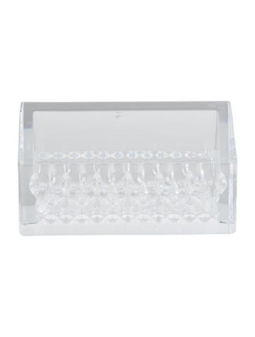 Waterford crystal lismore essence business card holder decor and crystal lismore essence business card holder colourmoves