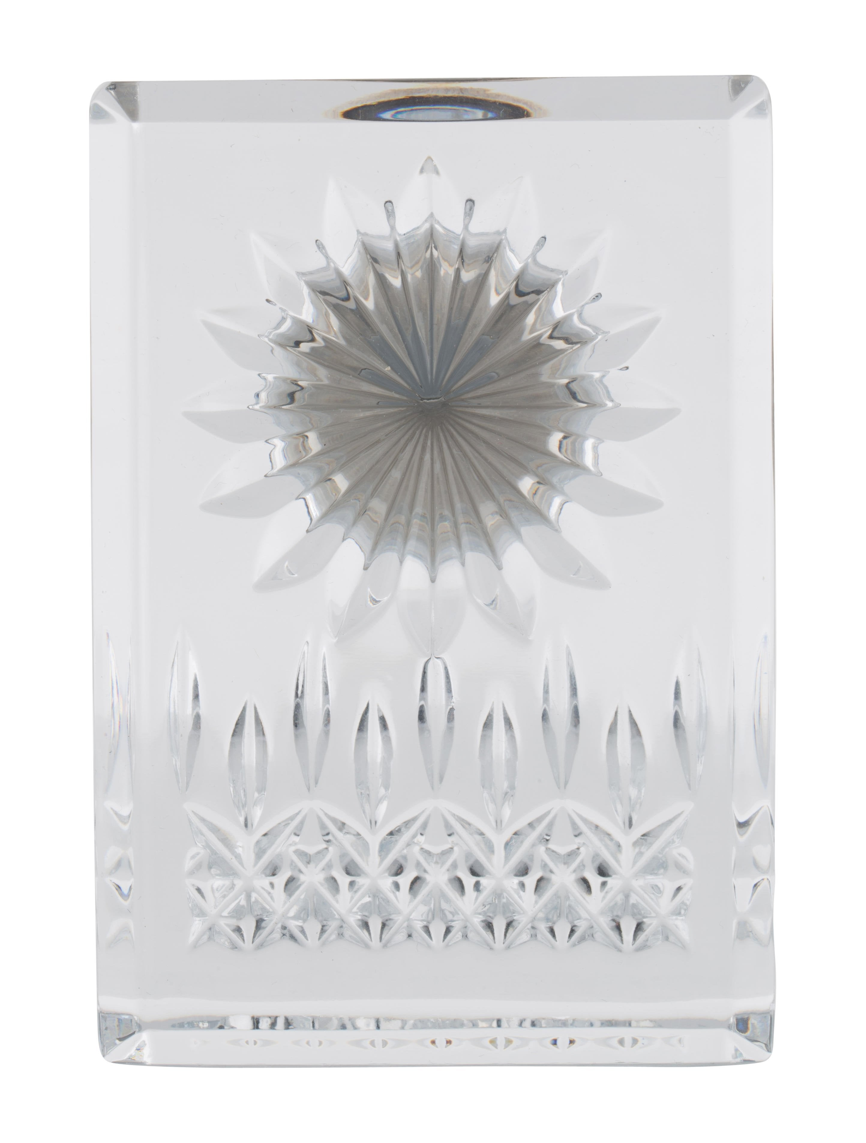 Waterford crystal lismore clock decor and accessories Crystal home decor