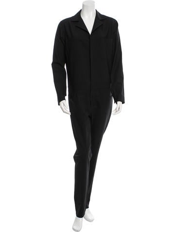 6397 Long Sleeve Wool Jumpsuit w/ Tags None