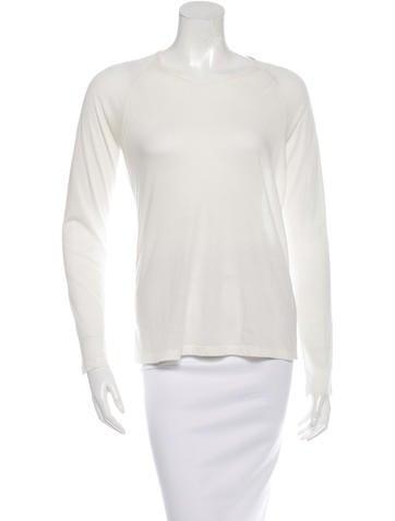 6397 Scoop Neckline Long Sleeve Top None