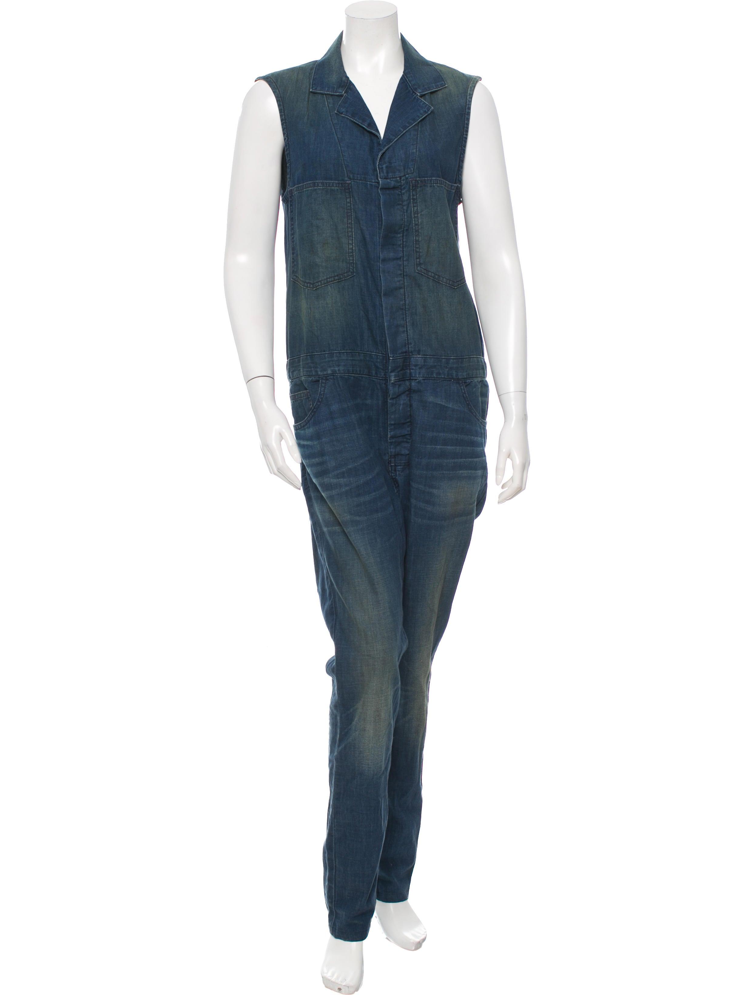 6397 sleeveless denim jumpsuit clothing w6320507 the