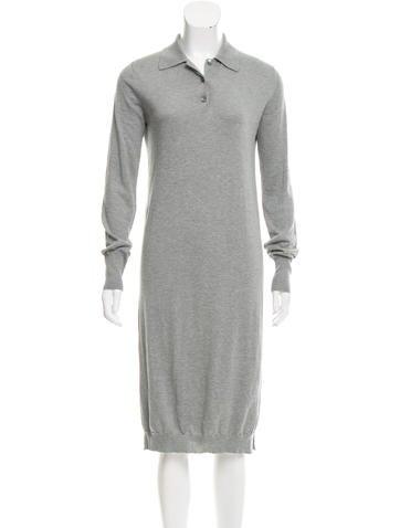 6397 Knit Midi Dress None