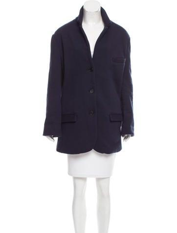 6397 Oversize Wool Blazer None