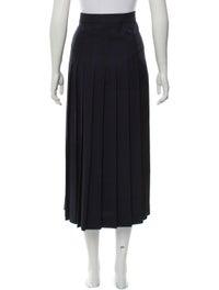 Wool Midi Skirt image 3