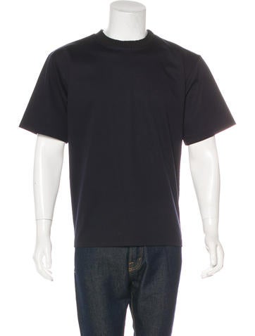 Kolor Ribbed Crew Neck T-Shirt w/ Tags None