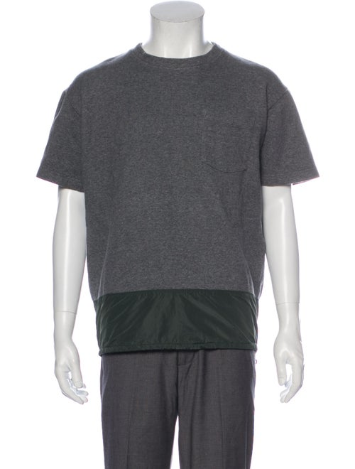 Kolor Crew Neck Short Sleeve Sweatshirt Grey