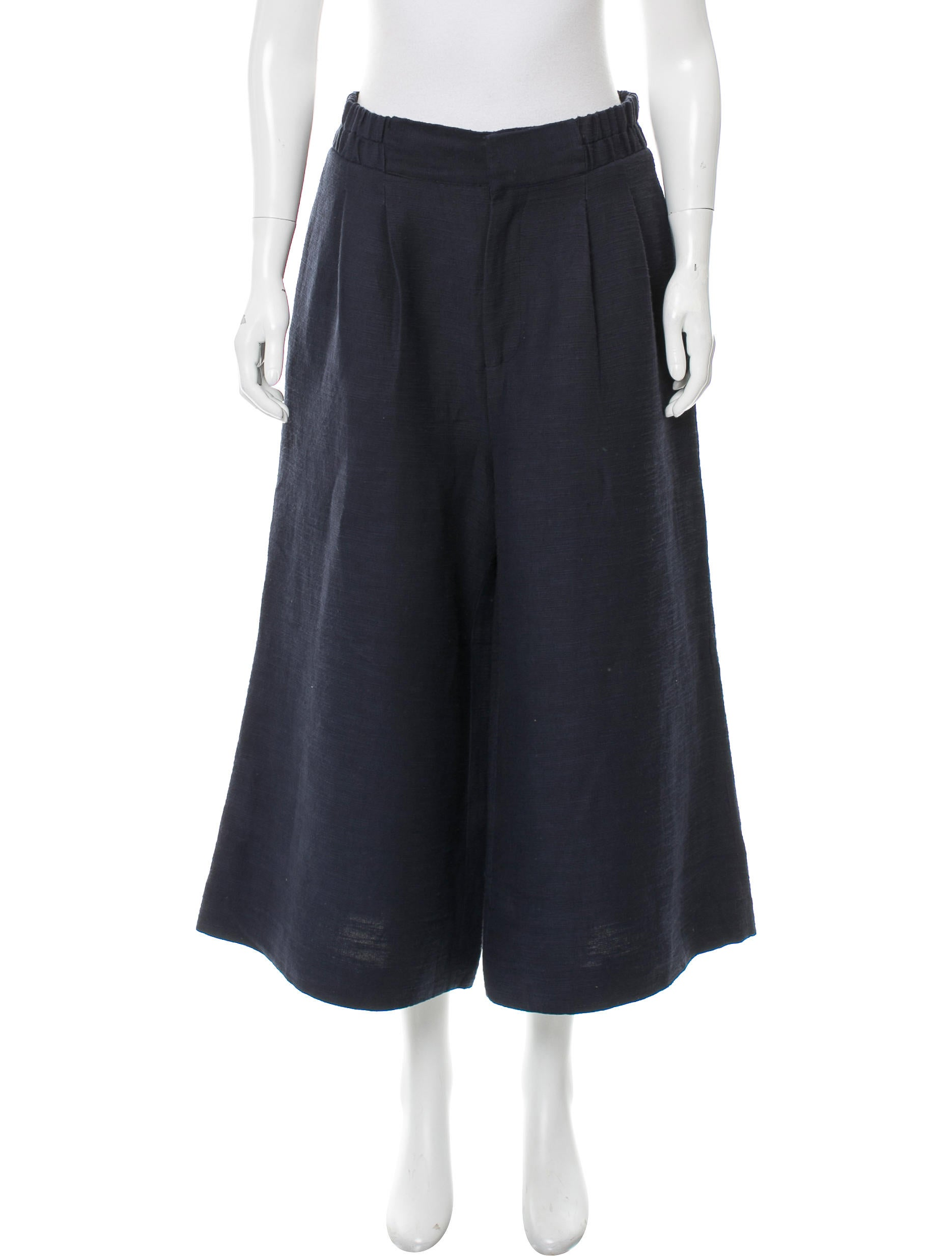Apiece Apart High-Rise Wide-Leg Culottes - Pants ...