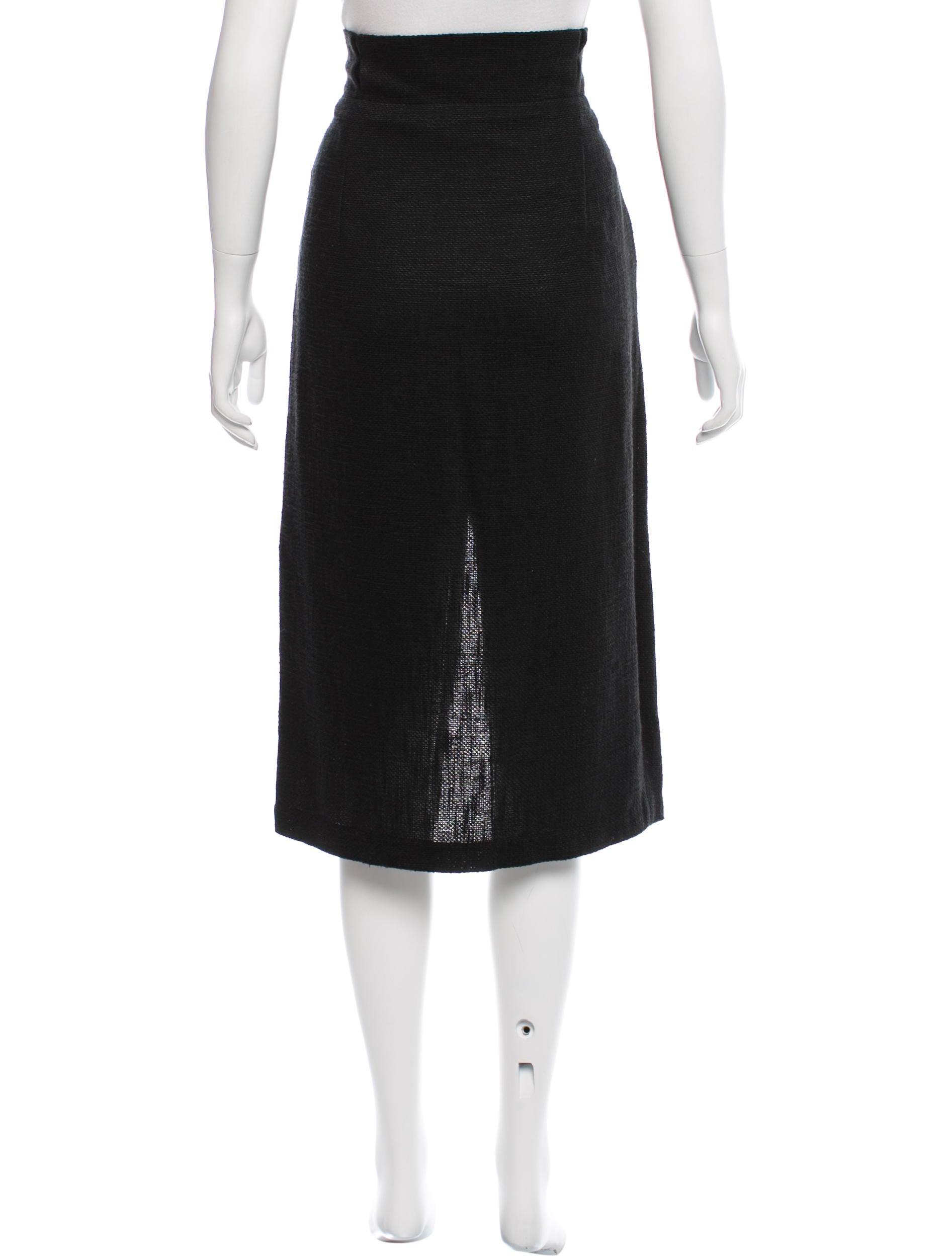 apiece apart textured midi skirt clothing w6a21104