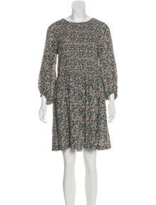 a02a1520027c Apiece Apart. Floral Print Mini Dress