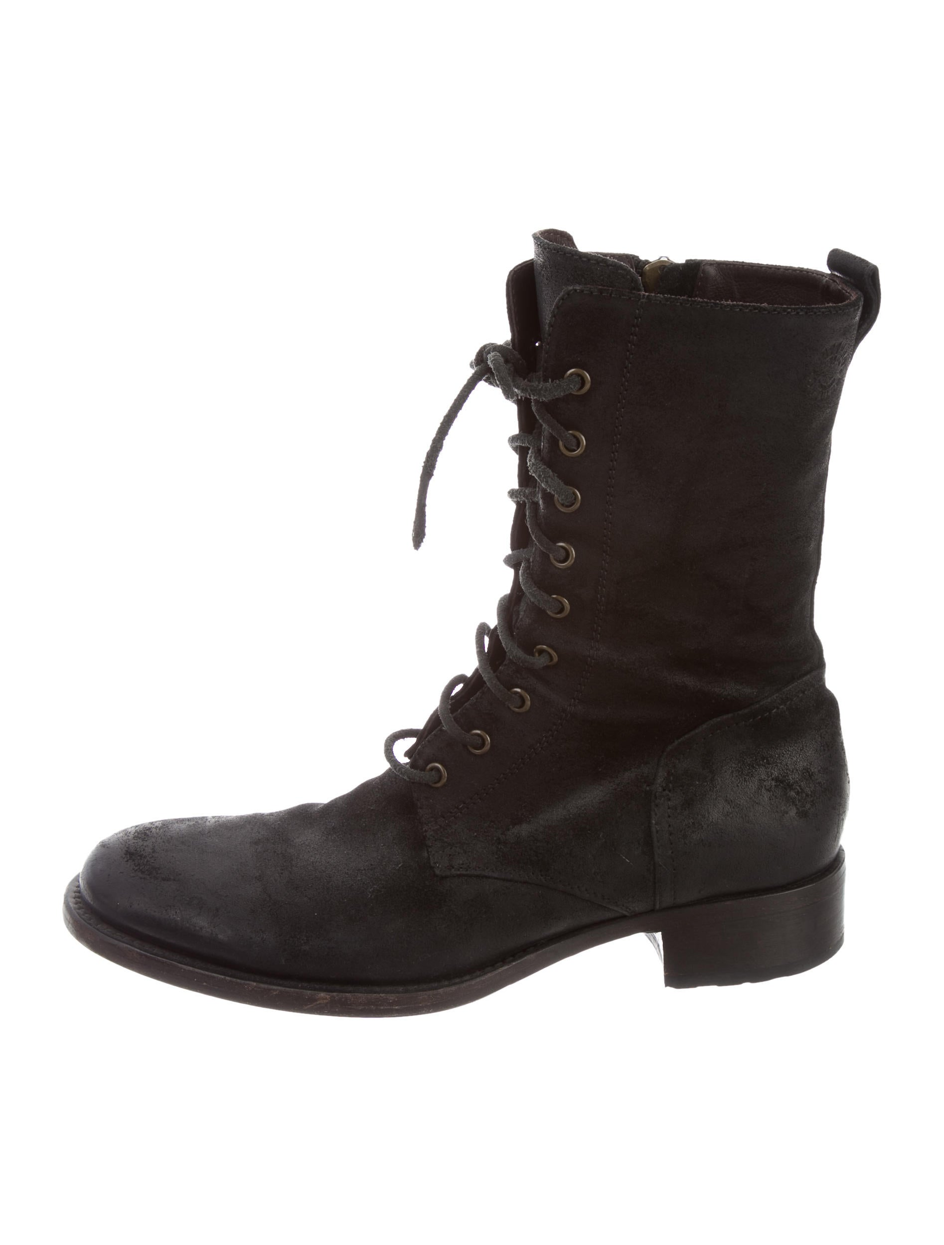 buttero distressed suede boots shoes w6b20027 the
