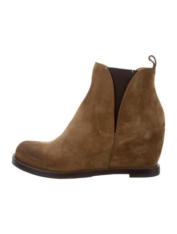 sale under $60 Buttero Suede Round-Toe Booties w/ Tags discount visa payment shop offer for sale jT3Zfp7
