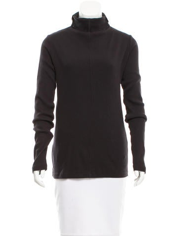 Clu Lace-Up Turtleneck Top w/ Tags None