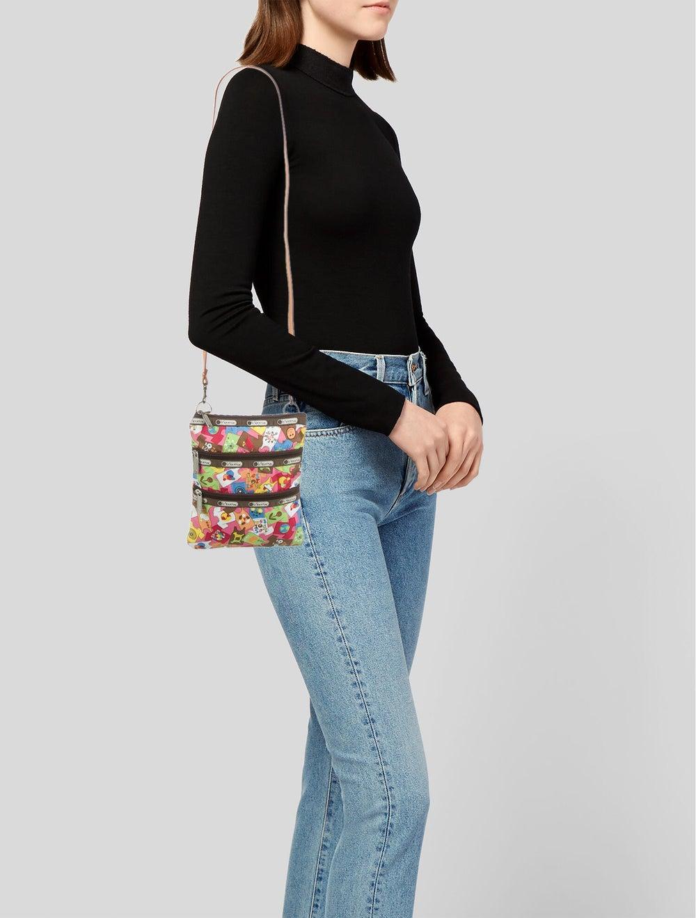 LeSportSac Nylon Shoulder Bag Silver - image 2