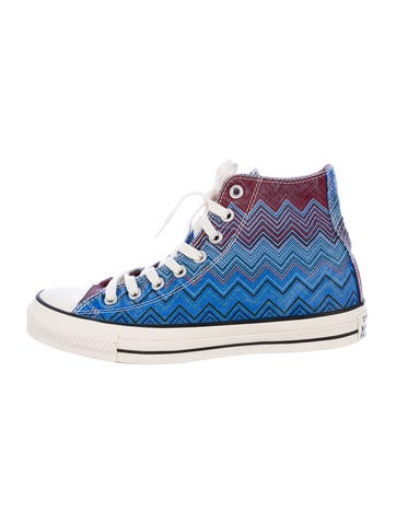 Missoni for Converse Chevron Sneakers
