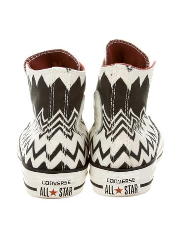 Missoni for Converse High Top Chevron Sneakers