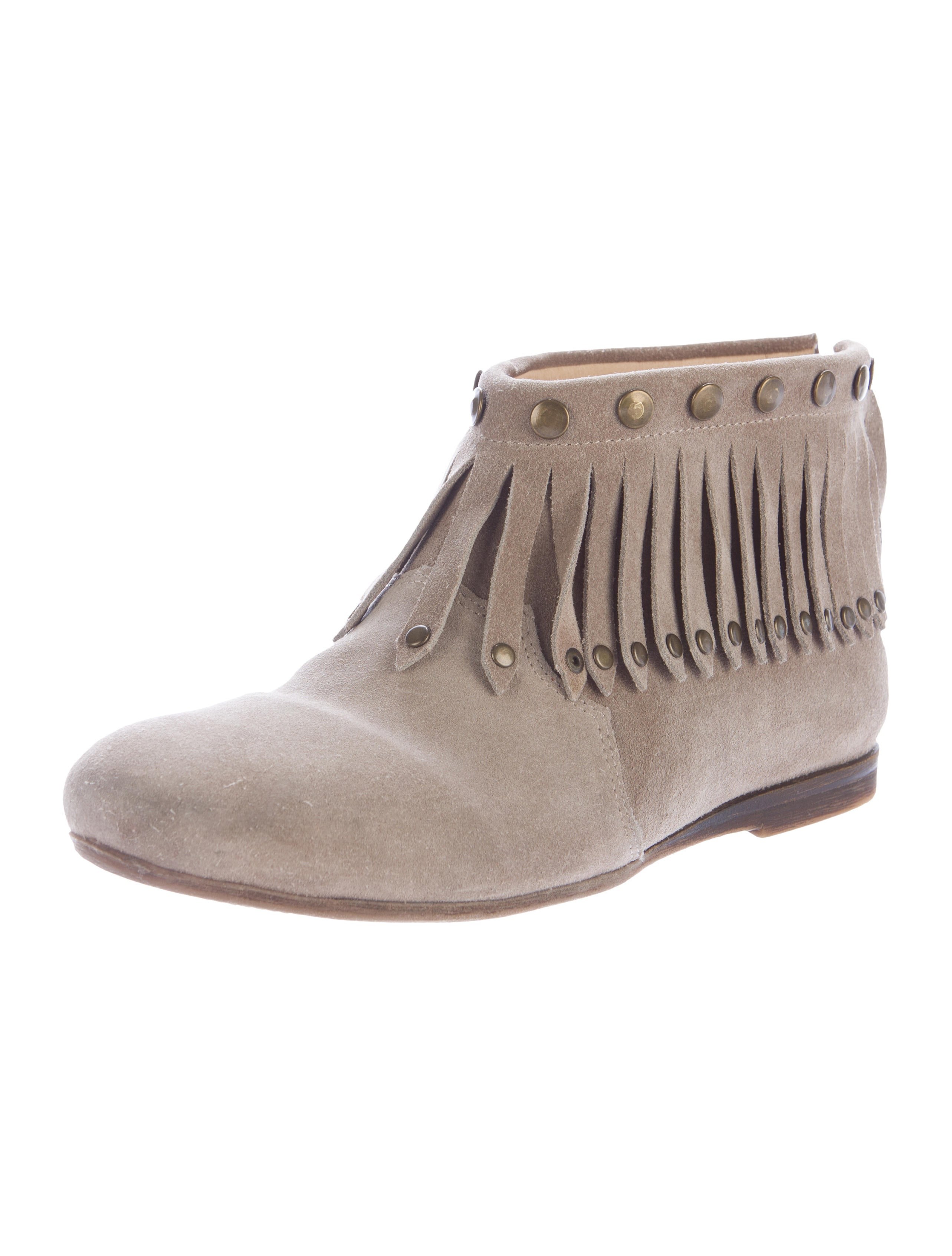 anine suede fringed ankle boots shoes w6o20132