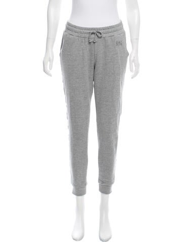 Anine Bing Mid-Rise Jogger Pants None
