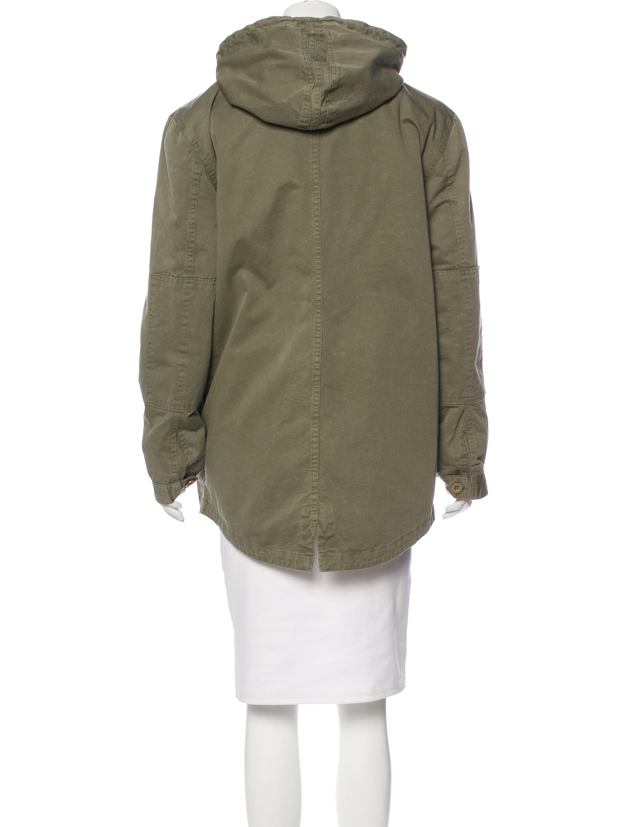 Anine Bing Hooded Short Coat Clothing W6o21074 The Realreal With Hood