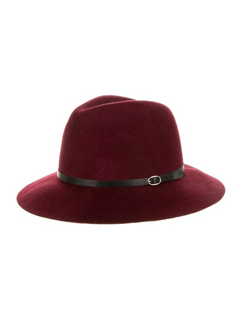 Anine Bing Wool Fedora Hat wool