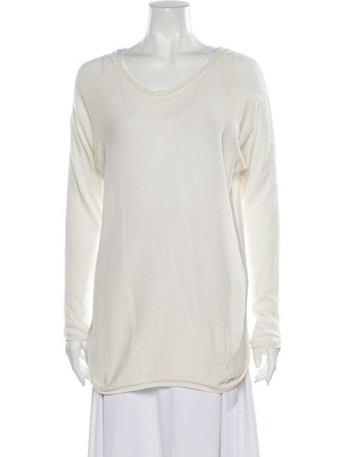 Anine Bing Scoop Neck Sweater