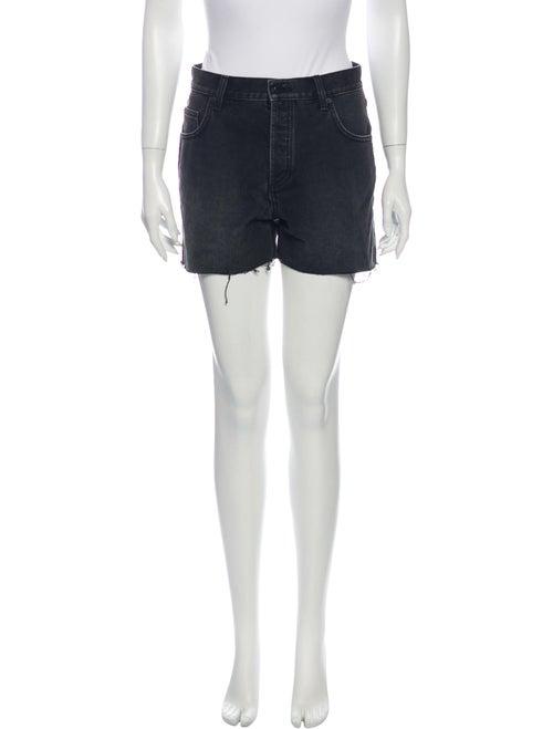 Anine Bing Mini Shorts Grey