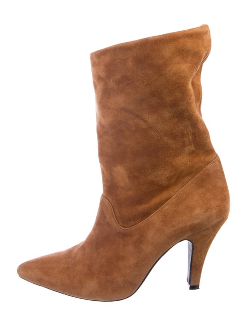 Anine Bing Suede Boots Brown