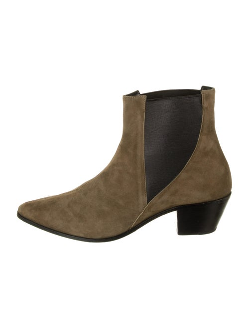 Anine Bing Suede Chelsea Boots