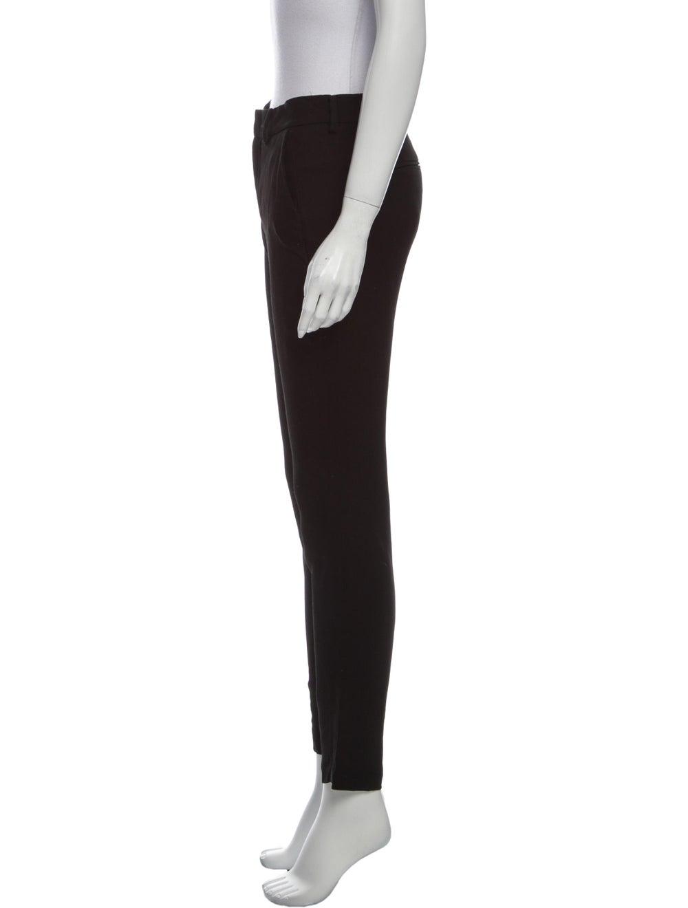 Anine Bing Straight Leg Pants Black - image 2