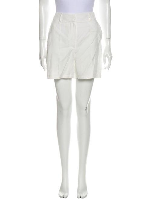 Anine Bing Mini Shorts White
