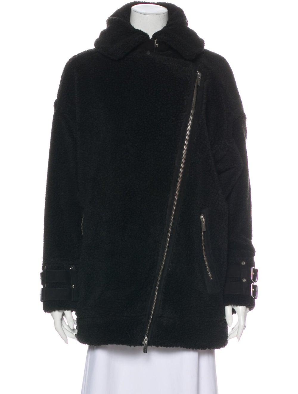 Anine Bing Coat Black - image 4