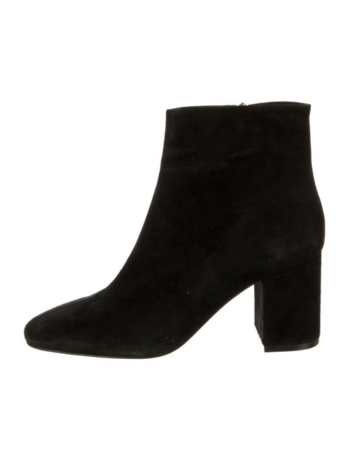 Anine Bing Suede Boots Black